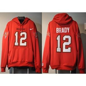 Tom Brady Tampa Bay Bucs Jersey embroidered hoodie